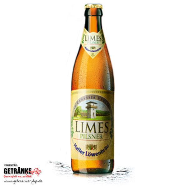 Haller Loewenbraeu Limes Pilsener | Produktbild | #GetraenkeFlip