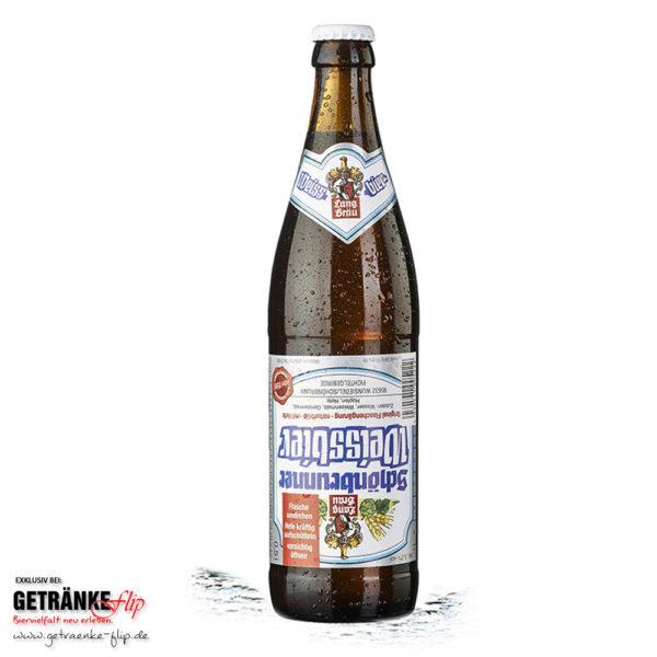 Lang-Bräu Schoenbrunner Weissbier | Produktbild | #GetraenkeFlip