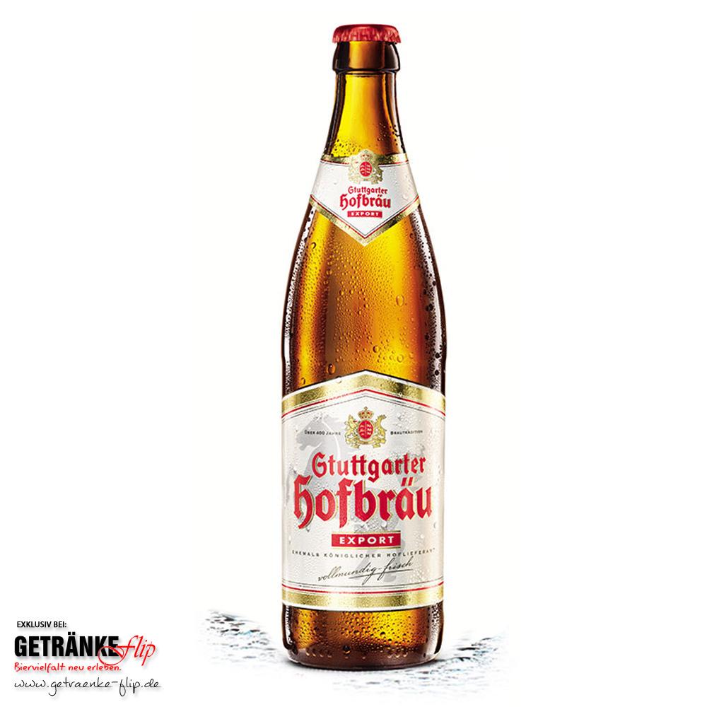 Stuttgarter Hofbraeu-Export | Produktbild | #GetraenkeFlip