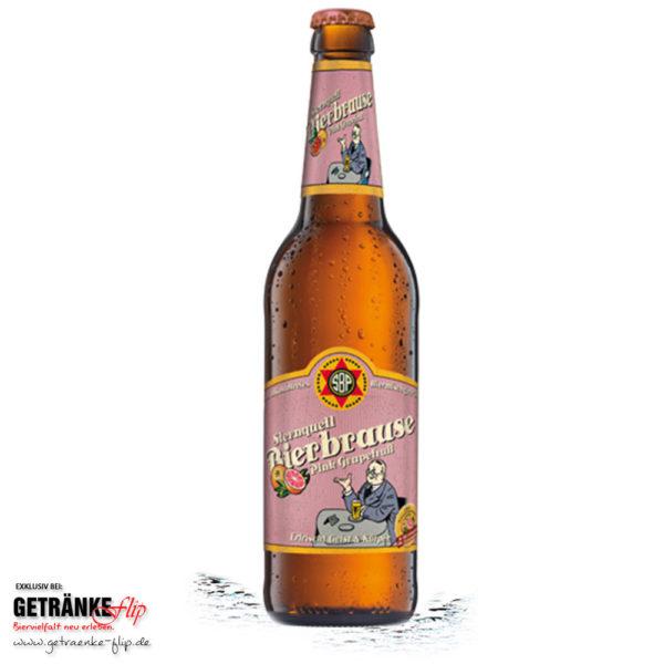 Sternquell-Brauerei Bierbrause Pink Grapefruit (Produktbild #GetraenkeFlip)